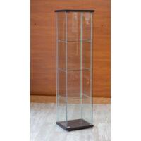 Nyílóajtós álló vitrin, edzett üveggel, TÖBB SZÍNBEN