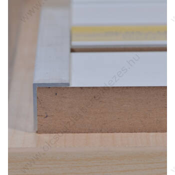 Alumínium L profil panel élére, eloxált