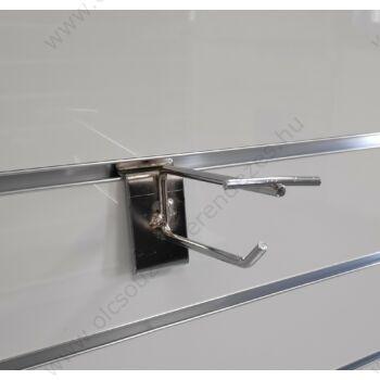 Árcimketartós szimpla akasztó panelbe 100 mm
