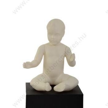 BILLO kőhajú, ülő CSECSEMŐ baba, 1 év