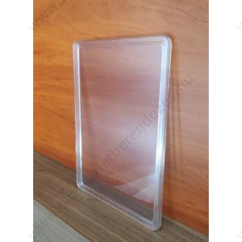 Ártábla PVC lappal, A4 méretű